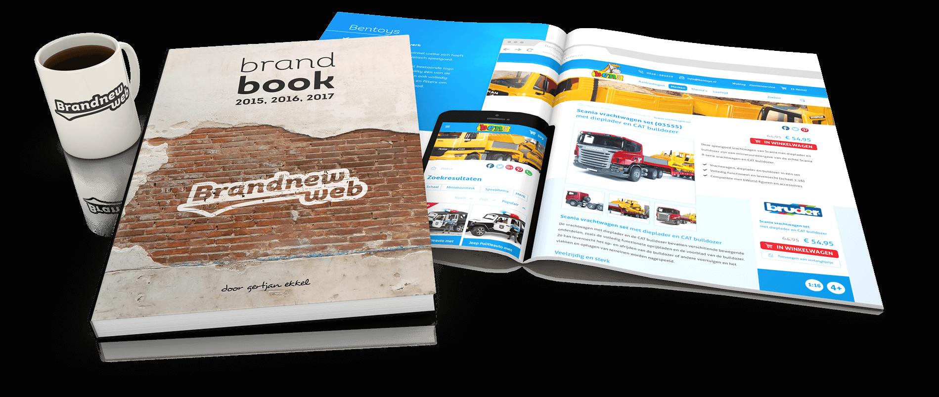 Brandbook - Brandnew Web